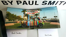 BNWT Authentic Paul Smith Las Vagas Mini Bifold and Coin Wallet RRP £180