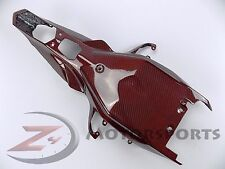 2015-2017 R1 R1M Rear Driver Tail Lower Tray Cowl Fairing 100% Carbon Fiber Red