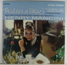 """BREAKFAST AT TIFFANY'S"" / Henry Mancini - Motion Picture Score - LSP-2362"