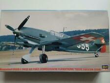 Hasegawa 1/48 bf-109e3 swiss airforce. (Ccckpit sprayed in rlm 02)