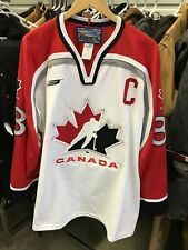 MENS XL - Vtg 90s Team Canada Hockey #88 Eric Lindros Bauer Glued Sewn Jersey