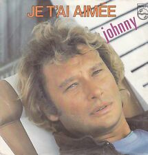 Johnny Hallyday-Je Tai Aimee vinyl single
