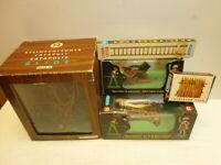 Hausser Elastolin Belagerungsgeräte 9800 4 + 9802 4 + 9887 4 + 9892 4 zu 4cm OVP