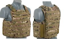 GILET TATTICO PLATE CARRIER VEST NAVY SEAL LIGHT MC AIRSOFT TACTICAL TFG 5161 MC