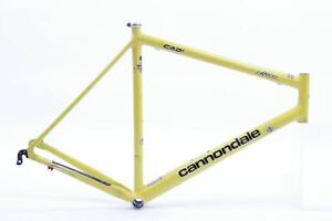 USED Late 90s Cannondale CAAD3 R600 58cm Aluminum Road Frame USA AS IS