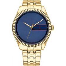 Tommy Hilfiger Women's Lee Blue Dial Wristwatch 1782081 RRP £150