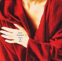 """JULIA FORDHAM lock and key/home YR 36 uk circa 1989 7"""" PS EX/EX"""