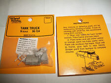 Wheel Works Vehicles N Scale Vintage Tank Truck White Metal Casting Kit BTTG