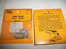 Wheel Works Vehicles N Scale Vintage Tank Truck White Metal Casting Kit BTTG