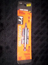 Black & Decker Magnetic Bit Tip Holder With 5 Bonus Tips, 71-375