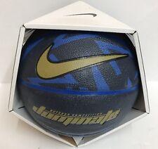 Nike dominate Basketball Ball  Size Full 29.5 Navy/Royal/Gold NEW