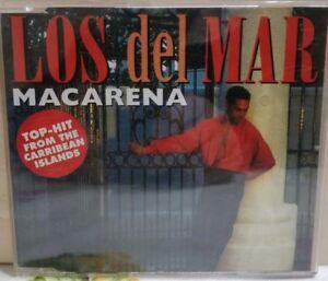 LOS DEL MAR - MACARENA brano in 4 versioni - cds  slim case 1995