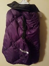 32 Dregrees Heat Ultra Light Down Reversible for Dogs Vest size Medium Black