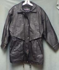 Wilsons Leather Jacket (Fully Lined) Women's Size Large Padded Shoulders
