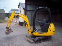 JCB 8014 - 8016 - 8018 - 8020 Mini Excavator - Workshop Manual (370 Pages)