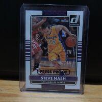 2014-15 Steve Nash Panini Donruss Press Proof Card LA Lakers SSP #83/199