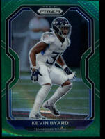 2020 PRIZM GREEN #105 KEVIN BYARD TENNESSEE TITANS FOOTBALL CARD