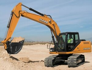 CASE CRAWLER EXCAVATOR CX160B CX180B SHOP SERVICE MANUAL CX 160 B CX180 B ON CD