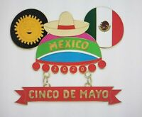 Disney Parks Pin Cinco De Mayo 2020 Mickey Mouse Mouseketeer Ear Hat LE Pin