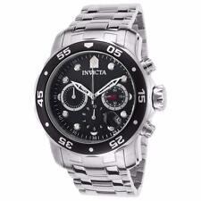 Invicta Men's Pro Diver 48mm Steel Bracelet & Case Quartz Watch 21920