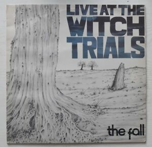 THE FALL - LIVE AT THE WITCH TRIALS - UK LP - 1979 - SFLP 1 - NEW WAVE POST PUNK