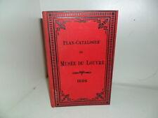Plan – Catalogue complet du Musée du Louvre, Salle par Salle. Imp Balitout 1882