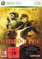 Xbox 360  Spiel Resident Evil 5 V Gold Edition  NEU