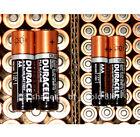 50 AA + 50 AAA Duracell CopperTop Duralock - 100 Brand New Alkaline Batteries