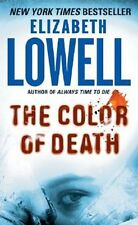 The Color of Death: Rarities Unlimited #4 - Elizabeth Lowell PB VGC thriller