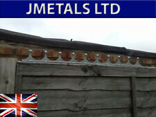DECORATIVE GALVANISED SPIKES FOR TOPPING GATES, WALLS OR FENCING