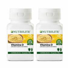 Vitamina D NUTRILITE para 3 meses 2 unid.