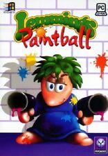Lemmings Paintball, PC CD-ROM jeu.