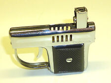 CORONA VINTAGE SEMI-AUTOMATIC MINI PISTOL POCKET PETROL LIGHTER - 1950 - JAPAN