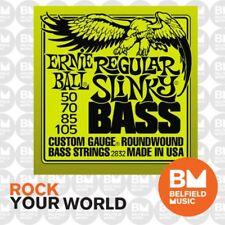 Ernie Ball 2832 Regular Slinky Bass Guitar Strings 50-105 Gauge Roundwound