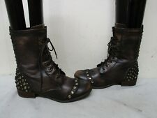 52b8ef394e6 Leather Women's Combat Boots US Size 6.5 | eBay