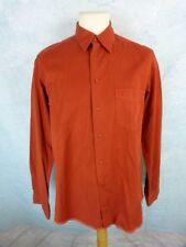 SOULEIADO Lot de 2 Chemises Homme Taille 3 - Manches longues - Orange  et Verte