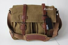 Belstaff Tasche COLONIAL 553 SHOULDER BAG Canvas/Leder KHAKI Umhängetasche
