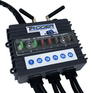 Trigger Wireless Accessory Control System (Six Shooter) Trigger