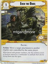 Warhammer 40000 Conquest LCG - Even the Odds  #162 - Base Set