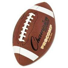 "Champion Sports Pro Composite Football, Junior Size, 20.75"", Brow 710858002933"