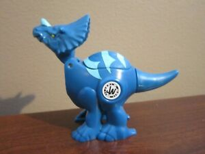 JURASSIC WORLD TRICERATOPS BRAWLASAURS ACTION FIGURE WIND UP TO BATTLE!