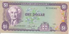 Jamaica - 1 dólares 1986 UNC-pick 68ab