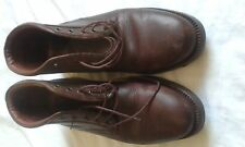 MENS JOHNSTON AND MURPHY REDDY BROWN ANKLE BOOTS SIZE 8