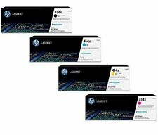 HP 414X High Yield BK/C/Y/M Toner Cartridges, W2020X, W2021X, W2022X, W2023X