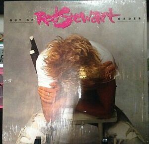 ROD STEWART Out of Order Album Released 1988 Vinyl/Record Collection USA pressed