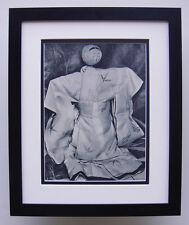 """1930s Schneider-Lengyel Vintage Photogravure """"Chinese Doll Portrait"""" FRAMED COA"""