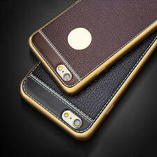 Luxury Retro Slim PU Leather Soft Phone Case Cover Skin For iPhone 7 7 Plus 6 6S
