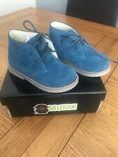 Boys Blue Boots Size 7 Brand New In Box