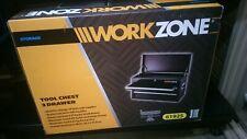 Workzone TOOL CHEST  Black – 3 drawers SIZE 48.8x26.3x33.9