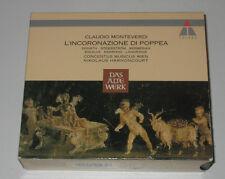 4 CD BOX/MONTEVERDI/L'INCORONAZIONE DI POPPEA/HARNONCOURT/Teldec 2292-42547-2